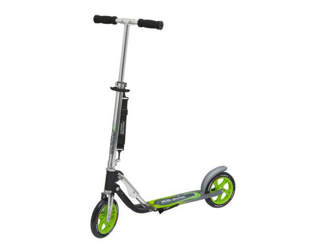 HUDORA Big Wheel City Scooter Kinder grün/silber